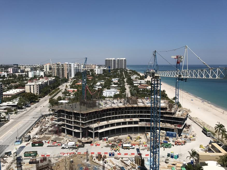 Auberge Beach Residences & Spa Fort Lauderdale, New Condos Under Construction on Fort Lauderdale Beach