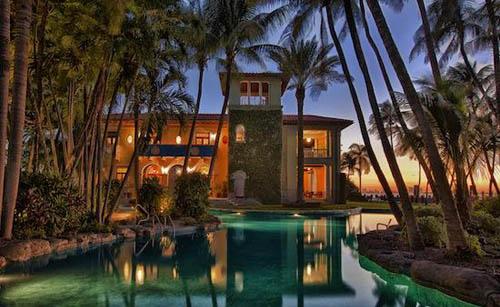Castello del Sol, Miami Beach Mansion