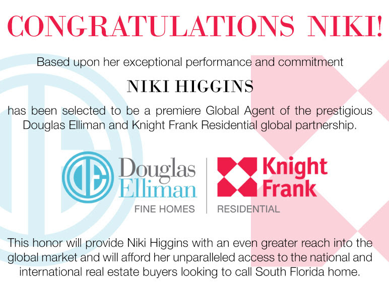 Niki Higgins Douglas Elliman Knight Frank Global Agent