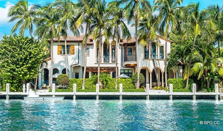A Beautiful Luxury Waterfront Home in Harbor Beach, Fort Lauderdale, Florida 33316