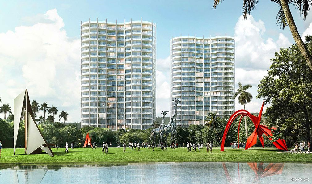 Park Grove Towers 1 & 2, Luxury Waterfront Condos in Miami, Florida 33133