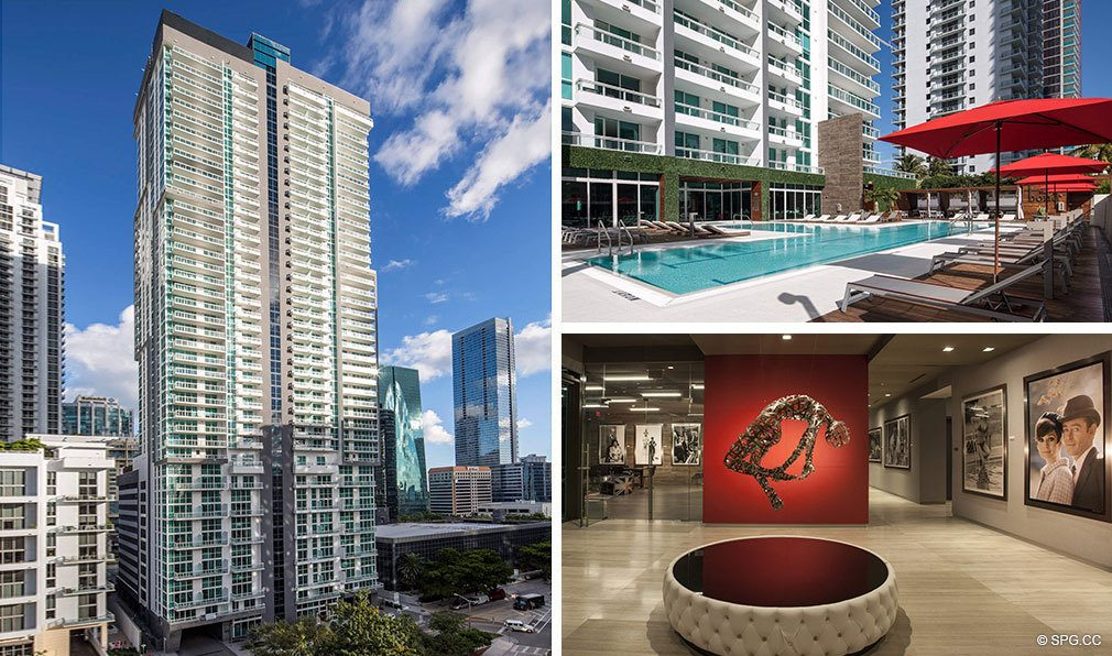 Bond on Brickell, Luxury Seaside Condos in Miami, Florida 33131