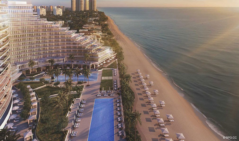 Beachfront Lifestyle at Auberge Beach Residences, Luxury Oceanfront Condos in Ft Lauderdale