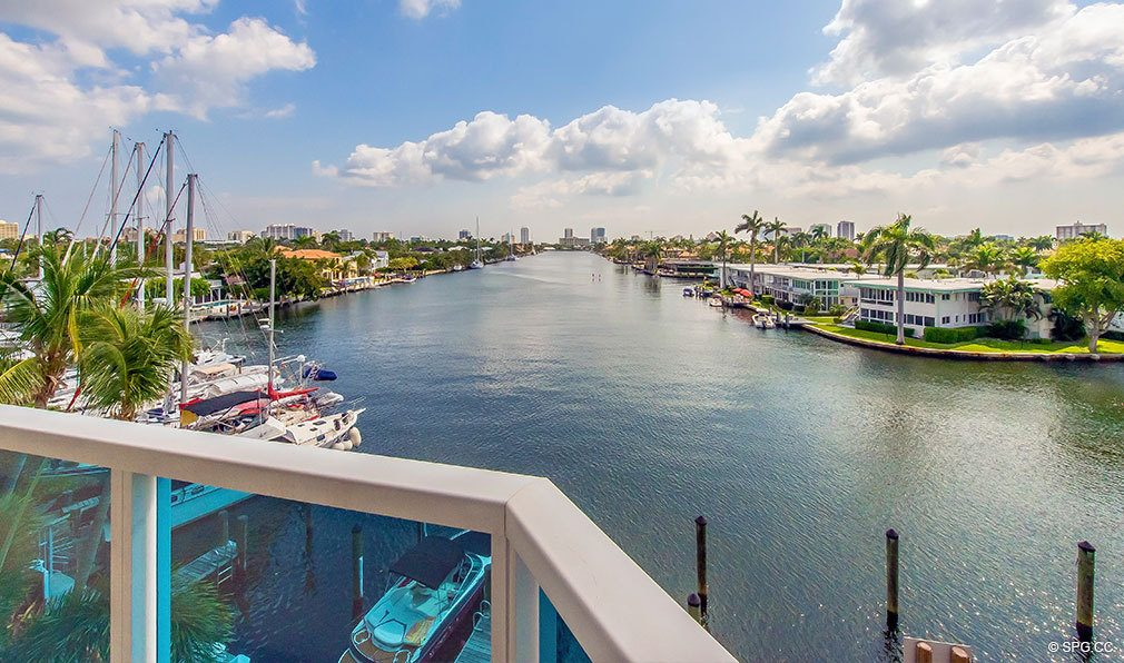 Stunning Intracoastal Views from Aria at Las Olas, Luxury Waterfront Condos in Fort Lauderdale, Florida 33301