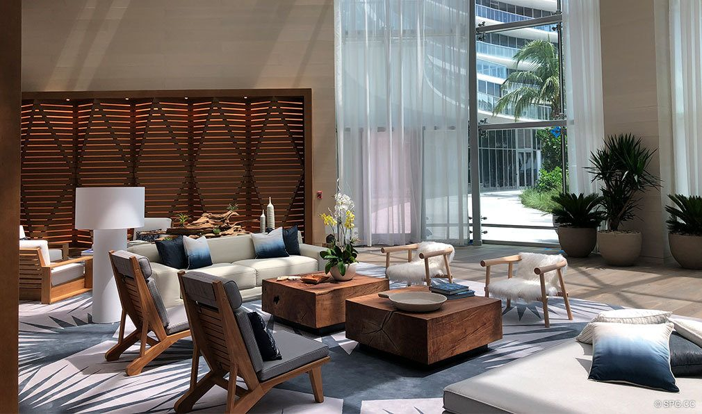 New Common Area Photos for Auberge Beach Residences, Luxury Oceanfront Condos in Ft Lauderdale