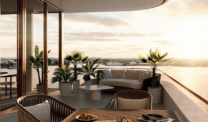 Terrace View La Clara, Luxury Waterfront Condominiums Located palm Beach