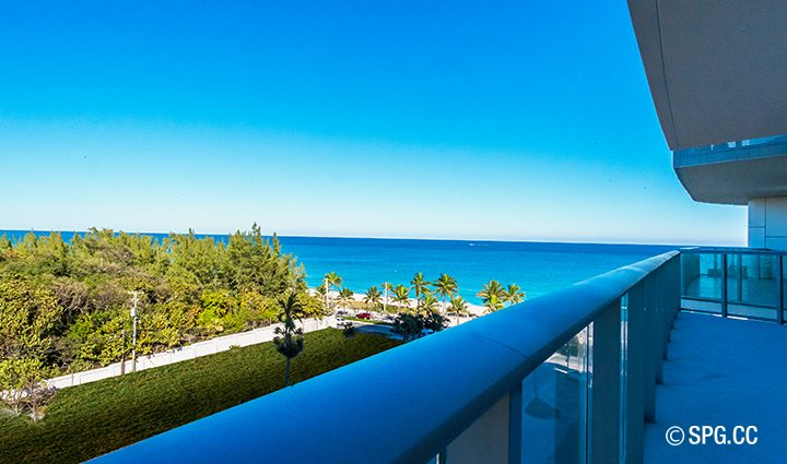 The Terrace, Ocean Views Residence 604 For Sale at Paramount, Luxury Oceanfront Condominiums Fort Lauderdale, Florida 33304