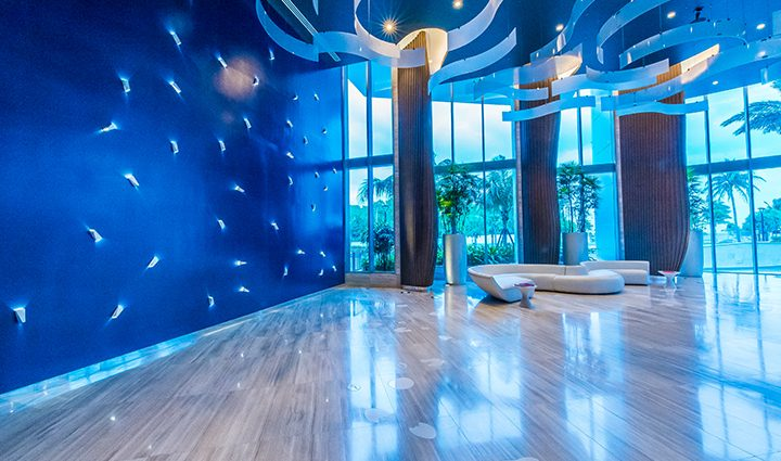 Lobby Residence 604 For Sale at Paramount, Luxury Oceanfront Condominiums Fort Lauderdale, Florida 33304