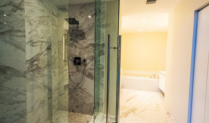 Master Bathroom Residence 604 For Sale at Paramount, Luxury Oceanfront Condominiums Fort Lauderdale, Florida 33304