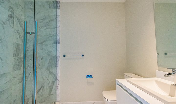 Bathroom Residence 604 For Sale at Paramount, Luxury Oceanfront Condominiums Fort Lauderdale, Florida 33304