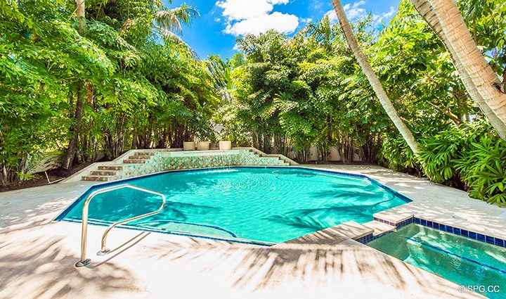 Pool at Estate Home 709 Idlewyld Drive, Fort Lauderdale, Florida 33301