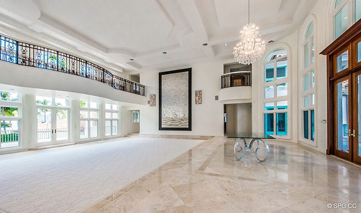 Main Living Room inside Estate Home 709 Idlewyld Drive, Fort Lauderdale, Florida 33301