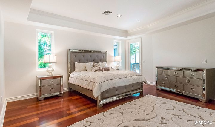 Guest Bedroom in Estate Home 709 Idlewyld Drive, Fort Lauderdale, Florida 33301