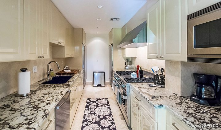 Guest Kitchen in Estate Home 709 Idlewyld Drive, Fort Lauderdale, Florida 33301