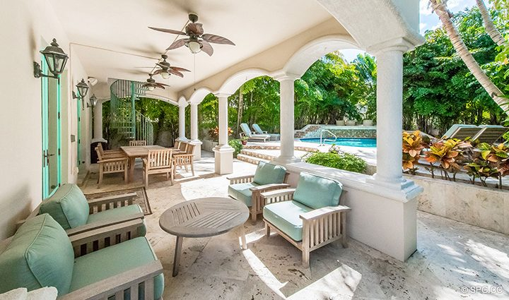 Exceptional Outdoor Space at Estate Home 709 Idlewyld Drive, Fort Lauderdale, Florida 33301