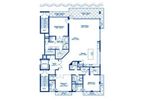 Click to View the Exuma South Floorplan
