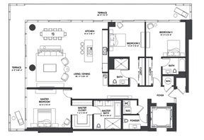 Click to View the Residence A1 Floorplan