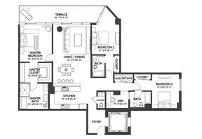 Click to View the Residence D Floorplan