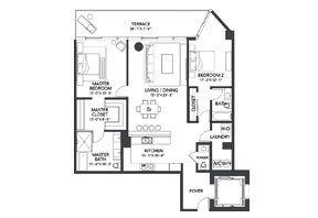 Click to View the Residence D1 Floorplan