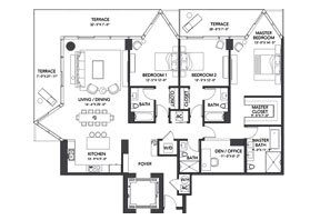 Click to View the Residence E Floorplan
