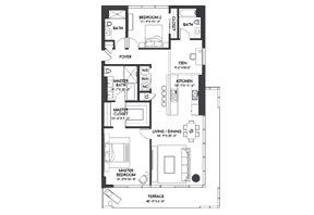 Click to View the Residence H Floorplan