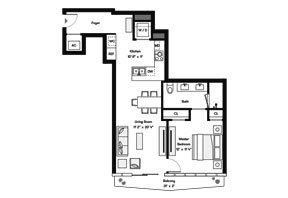 Click to View the Bay Residence S Floorplan.