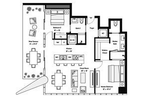 Click to View the Bay Residence SW Floorplan.