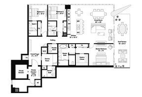 Click to View the Tower Residence NE Floorplan.