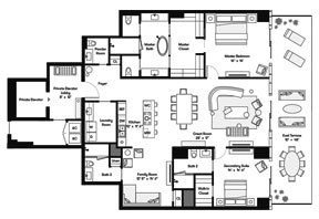 Click to View the Tower Residence E Floorplan.