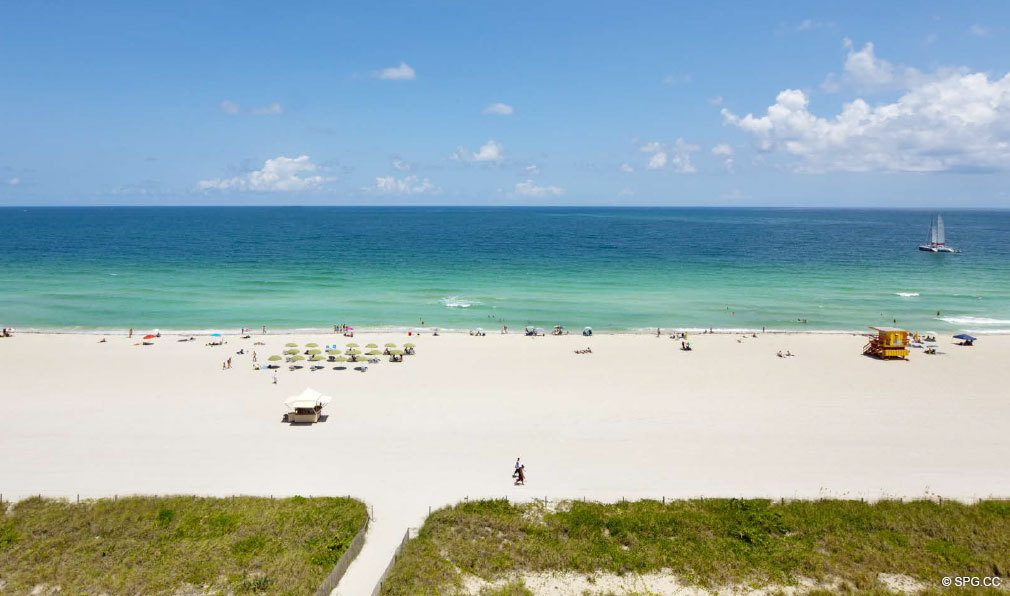 Beach at 321 Ocean, Luxury Oceanfront Condominiums Located at 321 Ocean Drive, Miami Beach, FL 33139