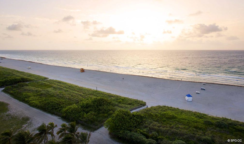 Panoramic Views at 321 Ocean, Luxury Oceanfront Condominiums Located at 321 Ocean Drive, Miami Beach, FL 33139