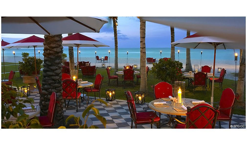 Costa Grill at Acqualina, Luxury Oceanfront Condominiums Located at 17885 Collins Avenue, Sunny Isles Beach, FL 33160