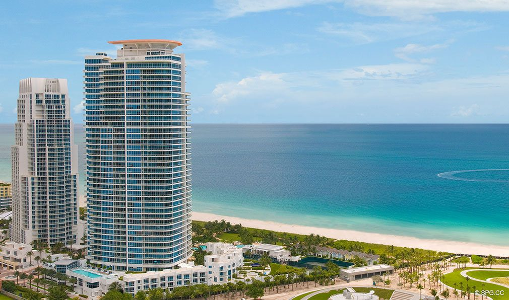 Two Towers of the Continuum, Luxury Oceanfront Condos Located at 50-100 South Pointe Dr, Miami Beach, FL 33139