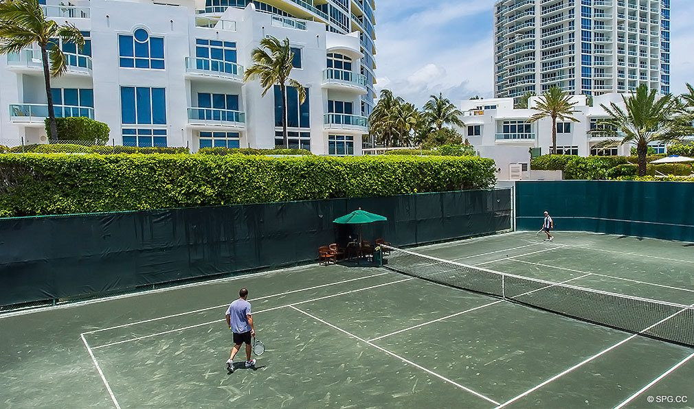 Tennis Club at Continuum, Luxury Oceanfront Condos Located at 50-100 South Pointe Dr, Miami Beach, FL 33139