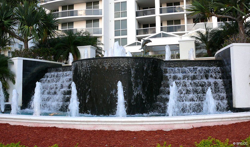 Fountains at L'Ambiance, Luxury Oceanfront Condominiums Located at 4240 Galt Ocean Dr, Ft Lauderdale, FL 33308