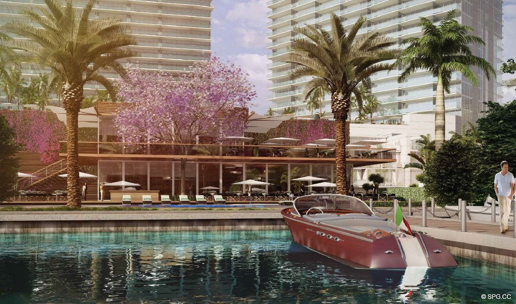 Docks at One Paraiso, Luxury Waterfront Condominiums Located at 701 NE 31st St, Miami, FL 33137