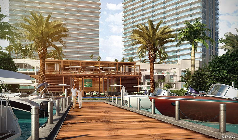 One Paraiso Dockage, Luxury Waterfront Condominiums Located at 701 NE 31st St, Miami, FL 33137