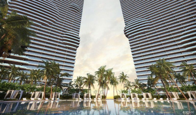 Paraiso Bay on the Water, Luxury Waterfront Condominiums Located at 600 NE 31st St, Miami, FL 33137