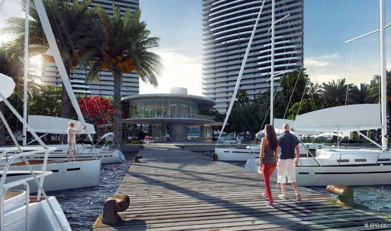 Paraiso Bay Docks, Luxury Waterfront Condominiums Located at 600 NE 31st St, Miami, FL 33137