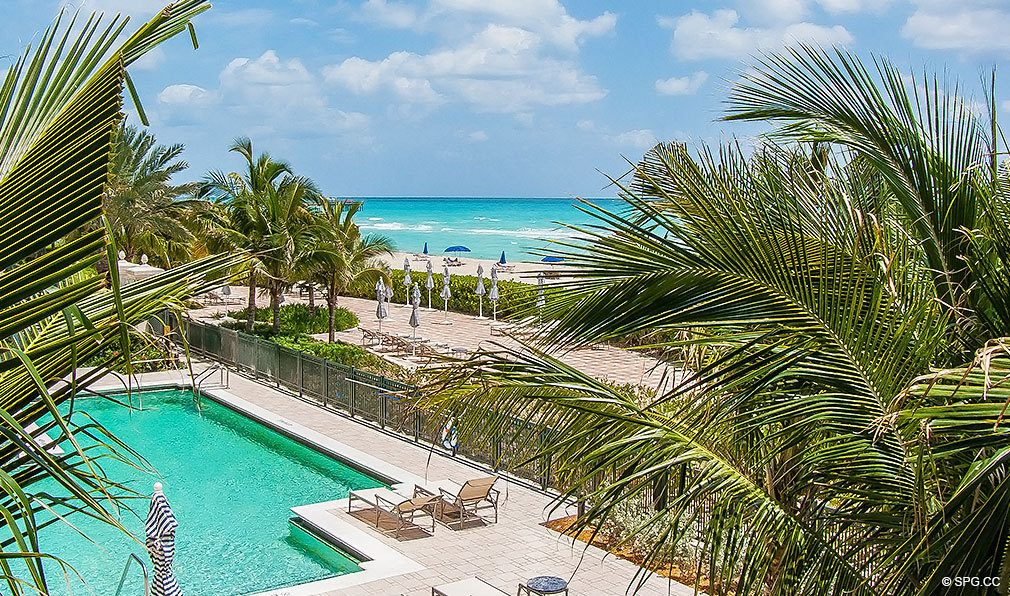 Turnberry Ocean Colony Pool, Luxury Condominiums Located at 16047-16051 Collins Ave, Sunny Isles Beach, FL 33160