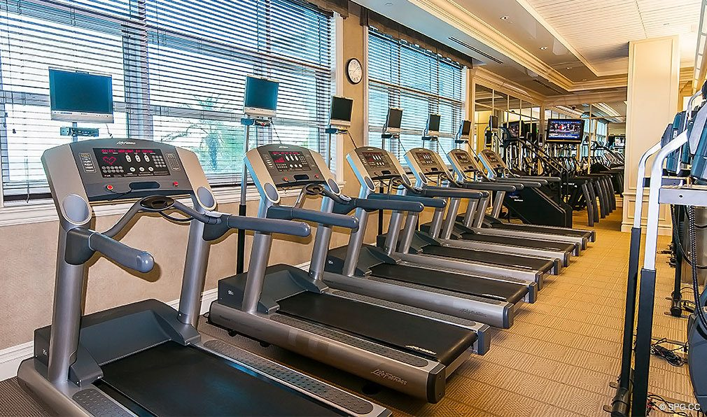 Turnberry Ocean Colony Gym, Luxury Condominiums Located at 16047-16051 Collins Ave, Sunny Isles Beach, FL 33160