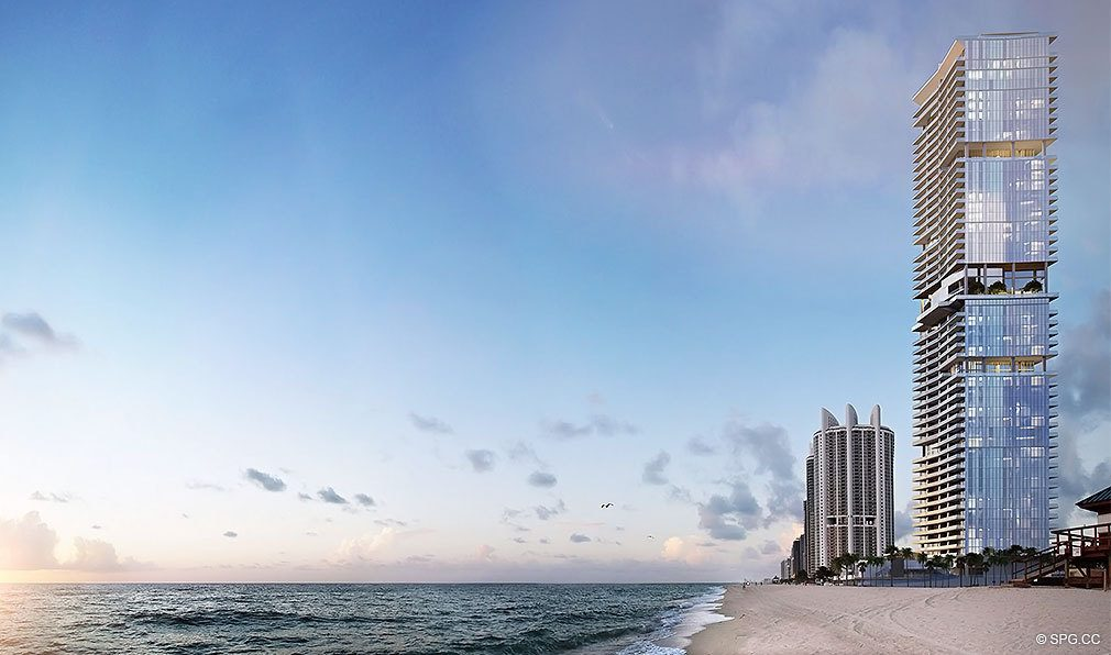 Turnberry Ocean Club, Luxury Oceanfront Condos Located at 18501 Collins Avenue, Sunny Isles Beach, Miami 33160