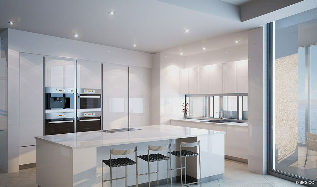 Kitchen Design At Porsche Design Tower Miami Luxury Oceanfront U U U U U U U U U U U U U